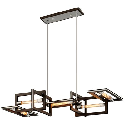 Earnhardt 5-Light Kitchen Island Pendant