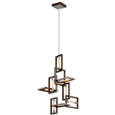 Earnhardt 7-Light Geometric Pendant