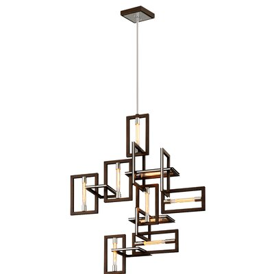 Earnhardt 9-Light Geometric Pendant