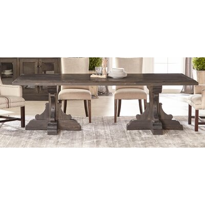 Dancy Dining Table Table Color: Black Wash