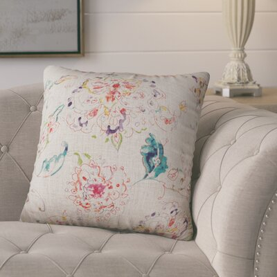 Primavera Linen Throw Pillow Color: Natural