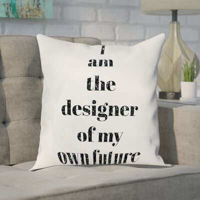 Goulart Designer of My Future Throw Pillow