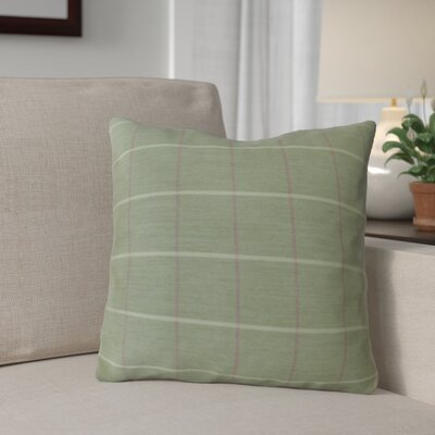 Escamilla Acrylic Throw Pillow Color: Cottage Green, Size: 15 H x 15 W