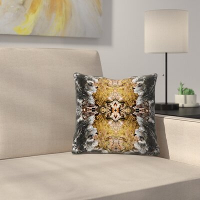Celestial Log Throw Pillow Size: 20 x 20