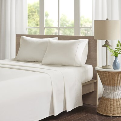 Eliason Sheet Set Size: Twin, Color: Ivory