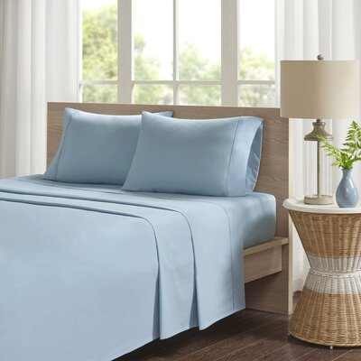 Eliason Sheet Set Size: King, Color: Teal
