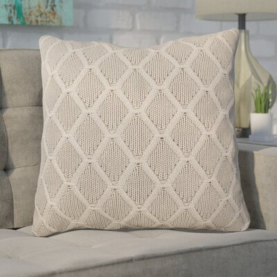 Larios Knit 100% Cotton Throw Pillow