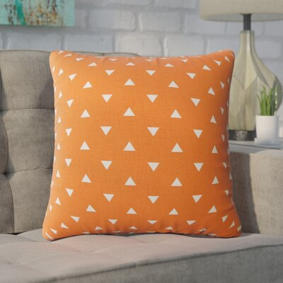 Wight Geometric Down Filled 100% Cotton Throw Pillow Size: 22 x 22, Color: Monarch
