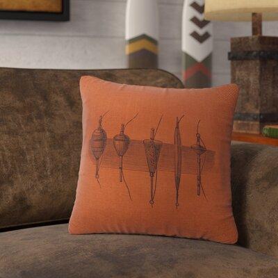 Nadler Throw Pillow Color: Paprika