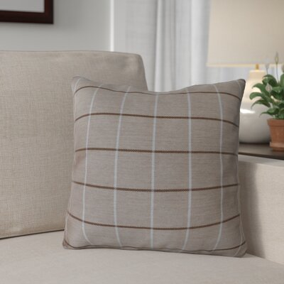 Escamilla Acrylic Throw Pillow Color: Cottage Tan, Size: 15 H x 15 W
