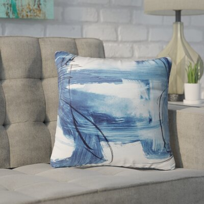 Kingston Blue Indoor/Outdoor Throw Pillow Set Size: 18 H x 18 W x 8 D