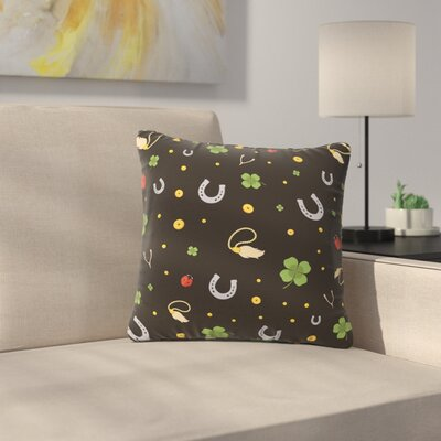 Charms Outdoor Throw Pillow Size: 18 H x 18 W x 5 D