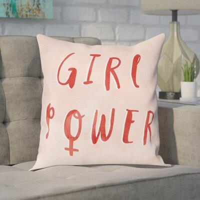 Gossett Girl Power Throw Pillow