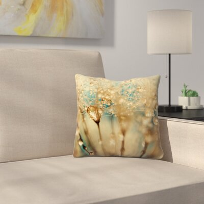 Droplets Throw Pillow Size: 16 x 16