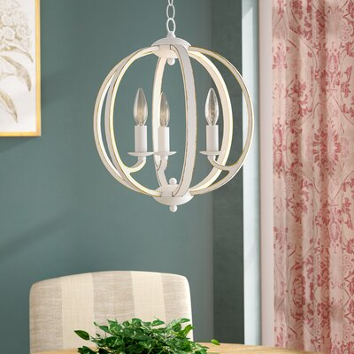 Madrid 3-Light Globe Pendant