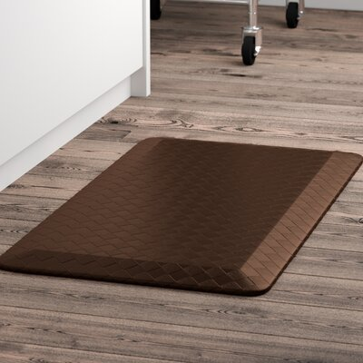Bouck Comfort Kitchen Mat Color: Brown