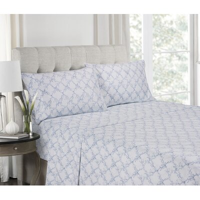 Fredericks Super Soft Printed Microfiber Sheet Set Size: Twin