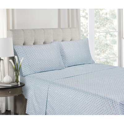 Warrick Super Soft Printed Microfiber Sheet Set Size: Queen