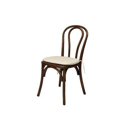 Bentwood Solid Wood Dining Chair Frame Finish: Tinted Raw