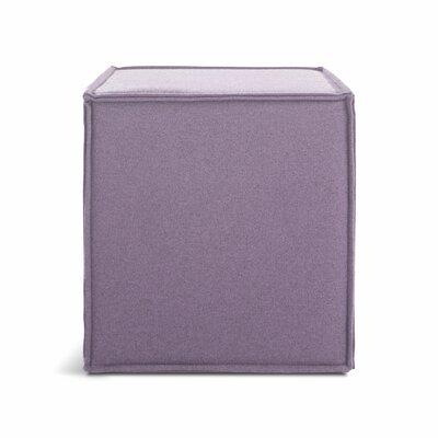 Otto Cube Ottoman Body Fabric: Thurmond Lilac