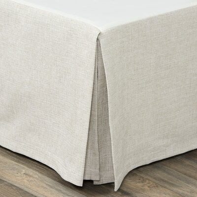Eckhoff Bed Skirt Size: King, Length: 18