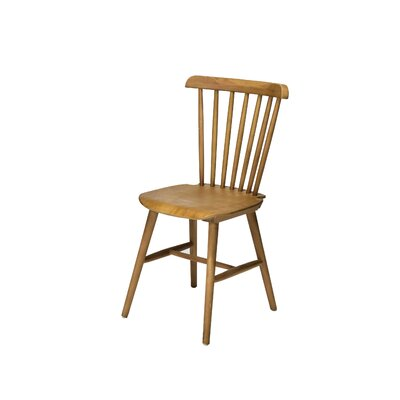Hileman Windsor Stackable Solid Wood Dining Chair Color: Tinted Raw