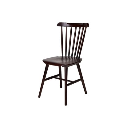 Hileman Windsor Stackable Solid Wood Dining Chair Color: Marian Fruitwood