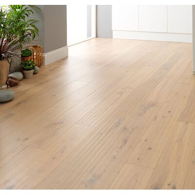 Wembury 8 x 51 x 0.56mm Oak Laminate Flooring in Beige