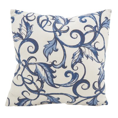 Keeble Vivid Vines Cotton Throw Pillow
