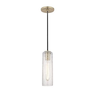 Hulsey 1-Light Mini Pendant Finish: Aged Brass