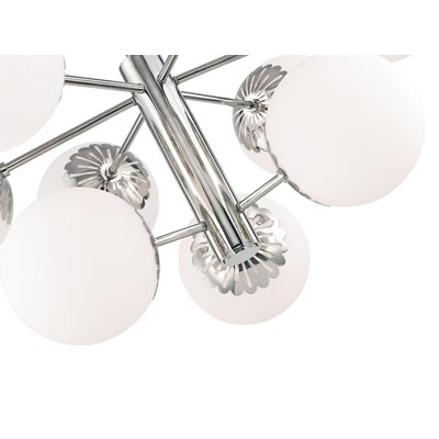 Huebner 9-Light Sputnik Chandelier Finish: Polished Nickel