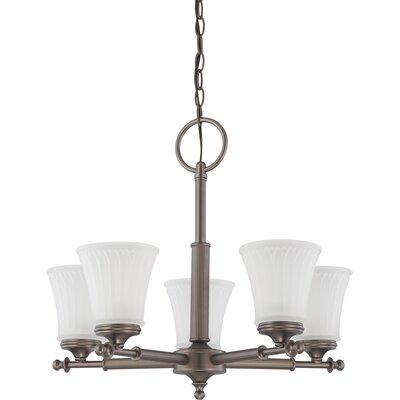 Ferro 5-Light Candle-Style Chandelier