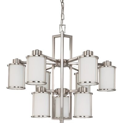 Ferris 9-Light Candle-Style Chandelier