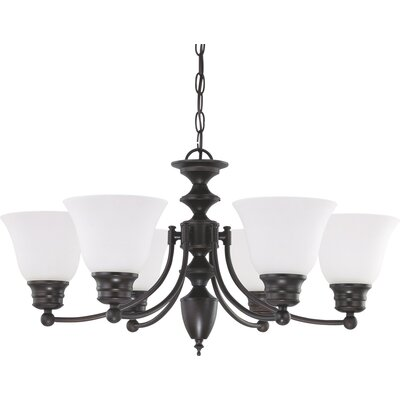 Kavanagh 6-Light Candle-Style Chandelier