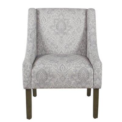 Lacrescenta Swoop Armchair Upholstery: Gray