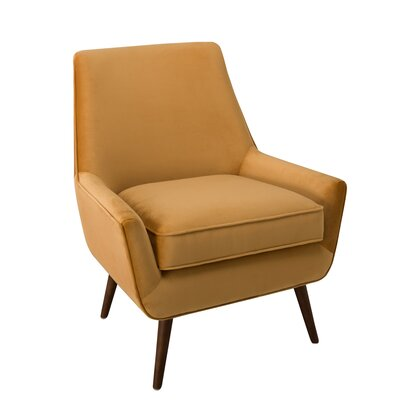 Cruz Armchair Color: Gold