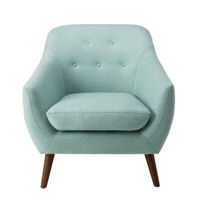 Vigil Tufted Armchair Upholstery: Aqua