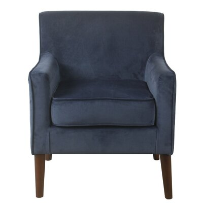 Cicero Street Armchair Upholstery: Navy Blue