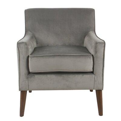 Cicero Street Armchair Upholstery: Gray