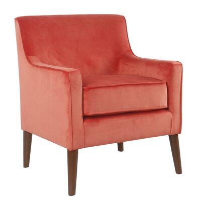 Cicero Street Armchair Upholstery: Orange