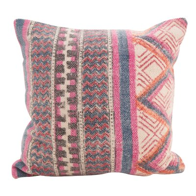 Redden Bohemian Mix Down Filled Throw Pillow