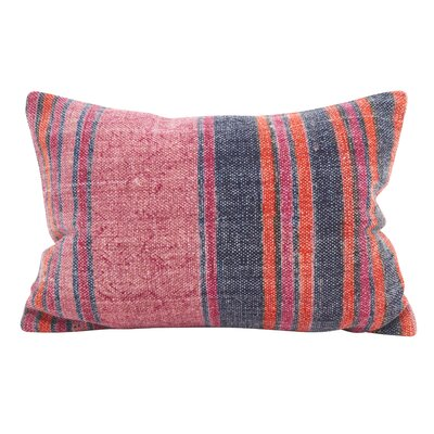 Rupert Stripes Accent Down Filled Lumbar Pillow