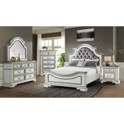Newsom Panel Configurable Bedroom Set