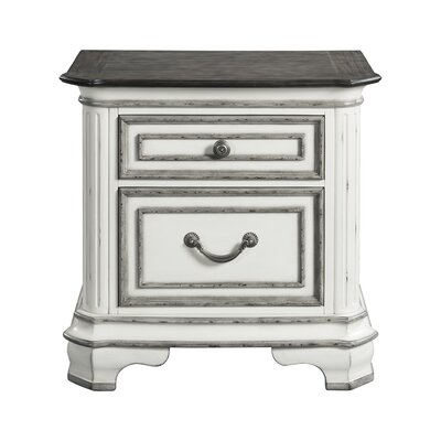 Newsom 2 Drawer Nightstand