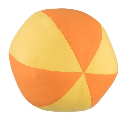 Kelford Beach Ball Cotton Throw Pillow