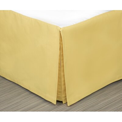 Kelford 300 Thread Count Bed Skirt Size: Full/Double, Drop Height: 15