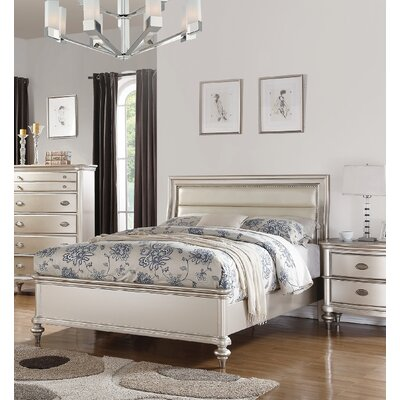 Niemi Upholstered Platform Bed Size: California King