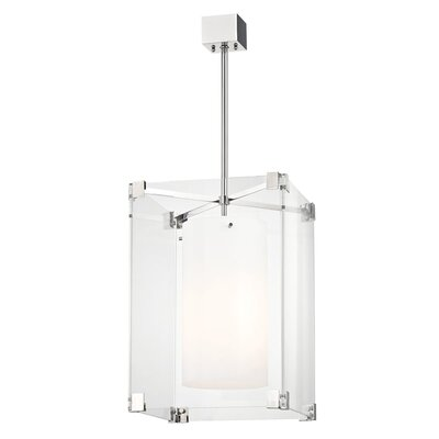 Tadley 3-Light Drum Pendant Finish: Polished Nickel