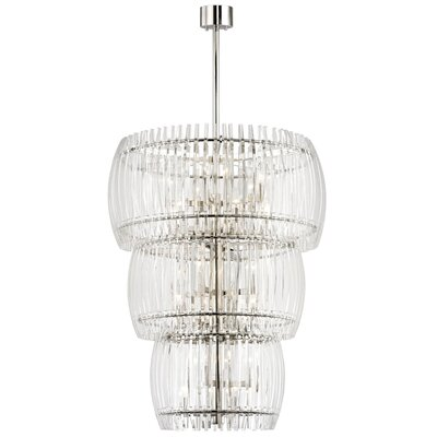 Woodham 24-Light Crystal Pendant