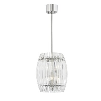 Woodham 4-Light Crystal Pendant